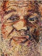 """Robert Arneson 'Study for """"Nasal Flat,""""' 1980"""