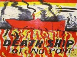 H.C. Westermann, 'Red Death Ship (Death Ship of No Port),' 1967