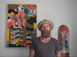 Greg Hodgson portrait of the artist