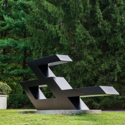 "Ronald Bladen's ""Flying Fortress"" and ""Host of the Ellipse"" On View at Katonah Museum of Art"
