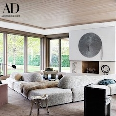 Joel Perlman Piece featured in Architectural Digest