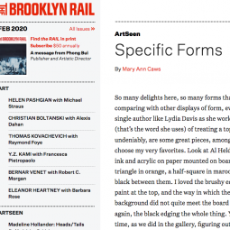 Brooklyn Rail - Specific Forms