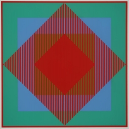 """Richard Anuszkiewicz featured in """"Bauhaus and America. Experiments in Light and Movement"""""""