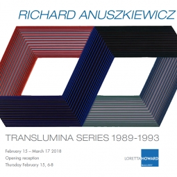 Richard Anuszkiewicz: Translumina Series (1989-1993)