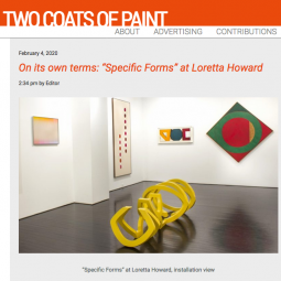 Two Coats of Paint - Specific Forms