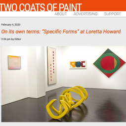 Specific Forms Review in Two Coats of Paint