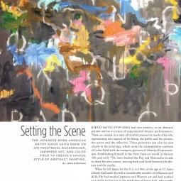 Kikuo Saito Profile in Art & Antiques