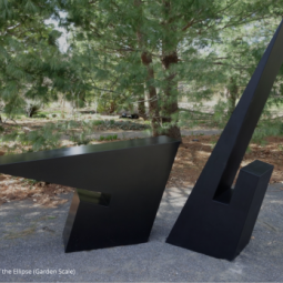 """Ronald Bladen's """"Host of the Ellipse"""" now on view at Longhouse Reserve"""