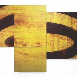 "David Row's ""Split Infinitive"" to be included in Pepe Karmel's publication ""Abstract Art"""