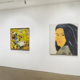 Ronald Bladen featured in exhibit at Peter Freeman Inc. by Alex Katz