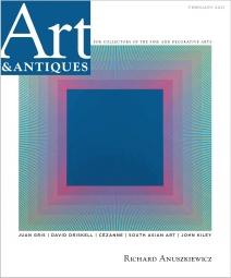 Richard Anuszkiewicz in Art & Antiques Magazine