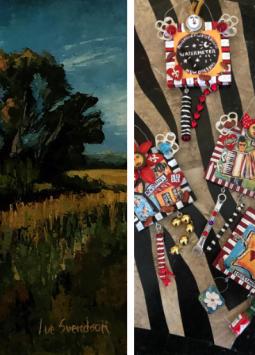 """July Group Exhibition"" | Stephen Palmer, Lue Svendson, Jax Frey, Janelle Crocker-Krause"