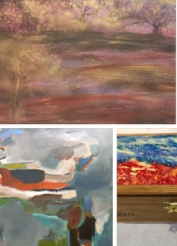 """New Works"" | Milton Cheramie, Karen Abboud, Lisa Normand, Alexandria Hafner"