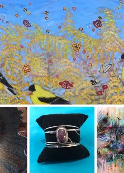 March Exhibition | Krista Roche, Craig McMilin, Kathy Dawdy, & Kim Howes Zabbia