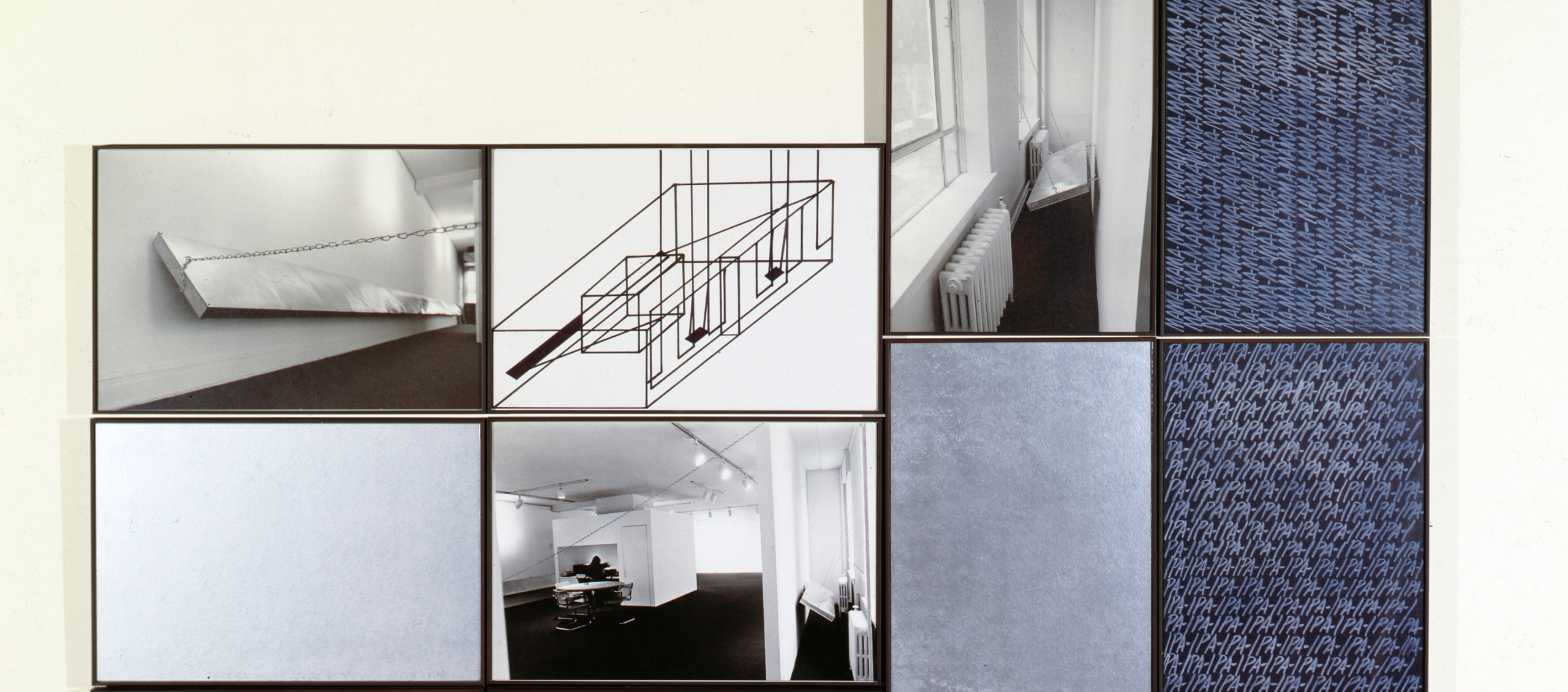 Vito Acconci, An Idea for Storage at a Small Gallery in Downtown Chicago, 1979