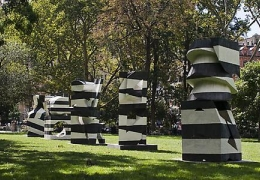 Mel Kendrick: Markers at Madison Square Park