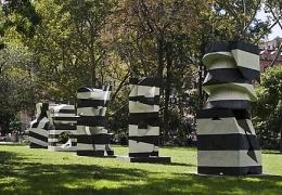 Mel Kendrick: Markers at Madison Square Park