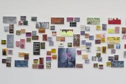 Betty Tompkins, WOMEN Words installation image