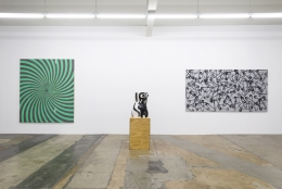 Installation view of Summer Group Exhibition