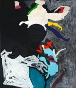 Beebop, 2014, Acrylic, enamel and flashe on canvas
