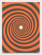 Andrew Brischler PANIC (Cadmium Orange / Warm Grey), 2019