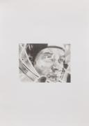Astronaut, 2019 Graphite on paper