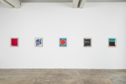 "Installation view of Andrew Brischler ""Punk & Faggotry"""