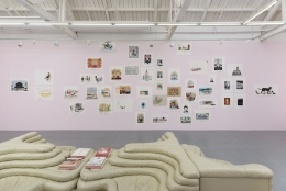 """Installation view of """"The TImes"""""""