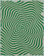 Andrew Brischler BREATHE IN BREATHE OUT (Grass Green/Seashell Pink), 2020