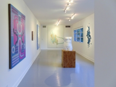 Lily Stockman, Andrew Brischler, Florence Derive, Michael Manning,Amy Bessone, and Rob Wynneon view during Judith Eisler Gloria(from Left to Right)