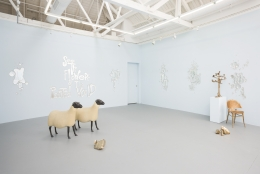 "Installation view of ""Pastoral"""