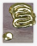 Nancy Lorenz, Lemon Gold Pour,2017-2019