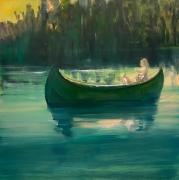 Deborah Brown Night Rower IV, 2020