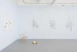"""Installation view of """"Pastoral"""""""