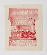 Dean Sameshima, Crowd in Red #1, 2007