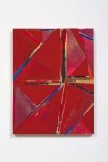 Lecia Dole-Recio, Untitled (rd.trngls.gld.bl.lns.crdbd.), 2015
