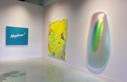 """Installation view of """"InauguralGroup Exhibition"""""""