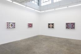 Karen Carson:Middle Ground, Installation view,GAVLAK Los Angeles, 2021