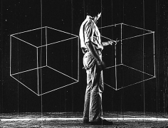 Cubes, 1977 Black and white 16mm film