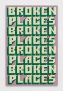 Andrew Brischler Broken Places (Green Wall), 2019