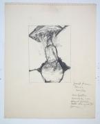 Betty Tompkins Fuck Drawing November 1972, 1972