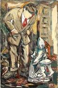 Viola Frey Untitled (Man with Meissen Figurine), 1982