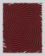 Andrew Brischler BREATHE IN BREATHE OUT (Poppy Red/Warm Grey), 2020