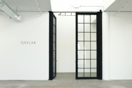 Image: Entrance of new Gavlak Los Angeles gallery space, now located at 1700 South Santa Fe Avenue, Suite 440,, Los Angeles, CA 90021