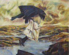 Keith Mayerson, The Abduction of Ganymede (Rescued from Eagle's Nest), 2006