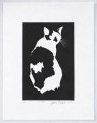 Lily, 2018, Linoprint