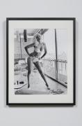 Bunny on Sun Porch - Miami, FL, 1963