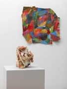 Installation View, Alphabet 3 and Shield, 2011, CAR Projects
