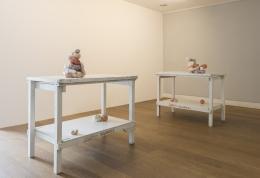 Installation View, Alexis Teplin, San Marino Calling, 2014