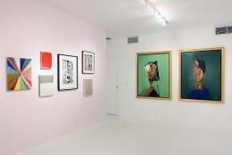 Installation View Gavlak Gallery